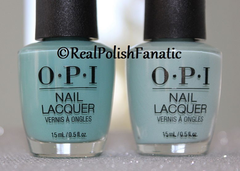 Comparison -- OPI Lisbon Shades - Closer Than You Might Belem vs. Can I Bairro This Shade (1)