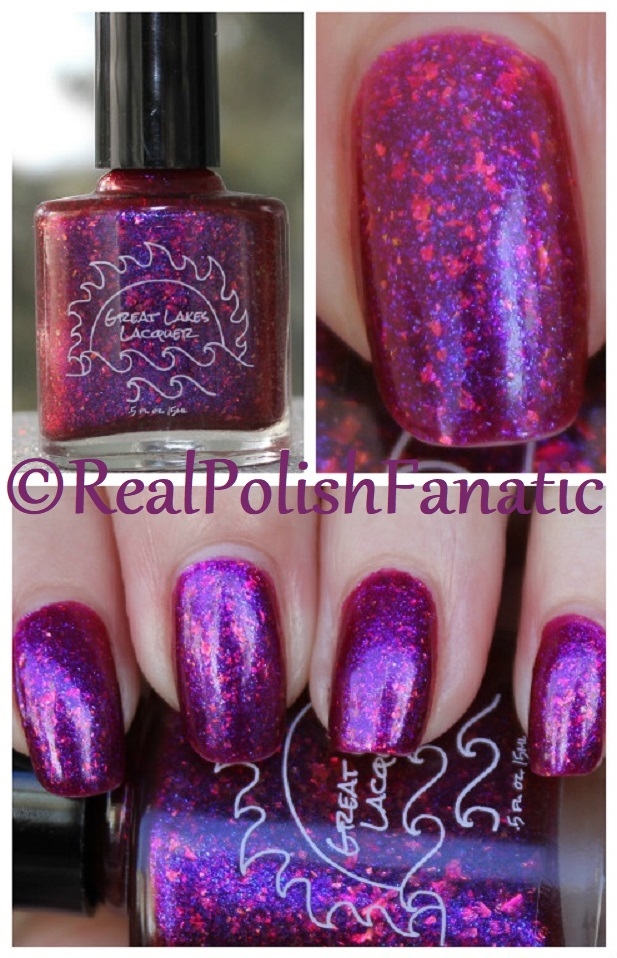 Great Lakes Lacquer - Glass On Fire -- January 2018 Polish Pickup