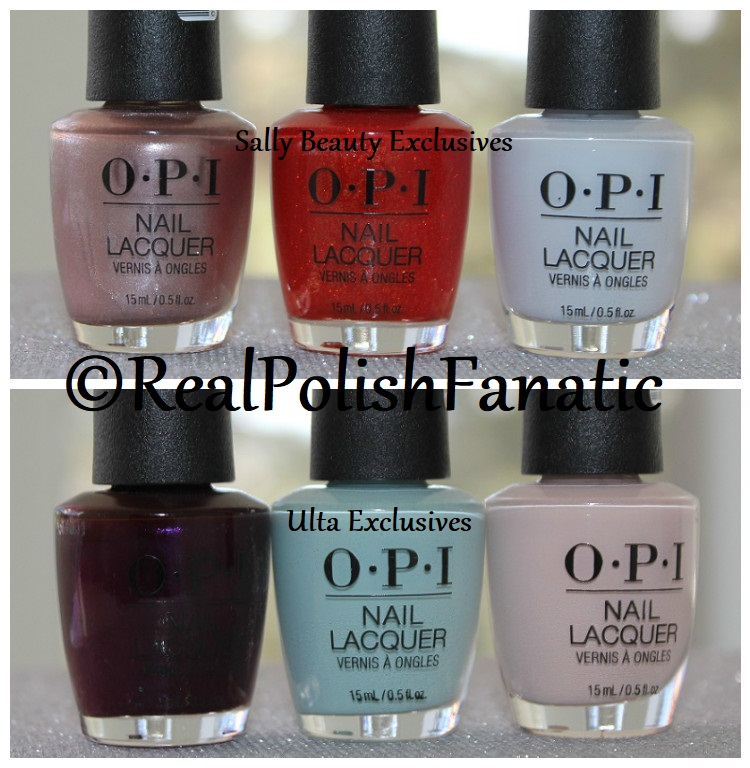 OPI Lisbon Collection Spring 2018 - Sally Beauty and Ulta Exclusive Colors