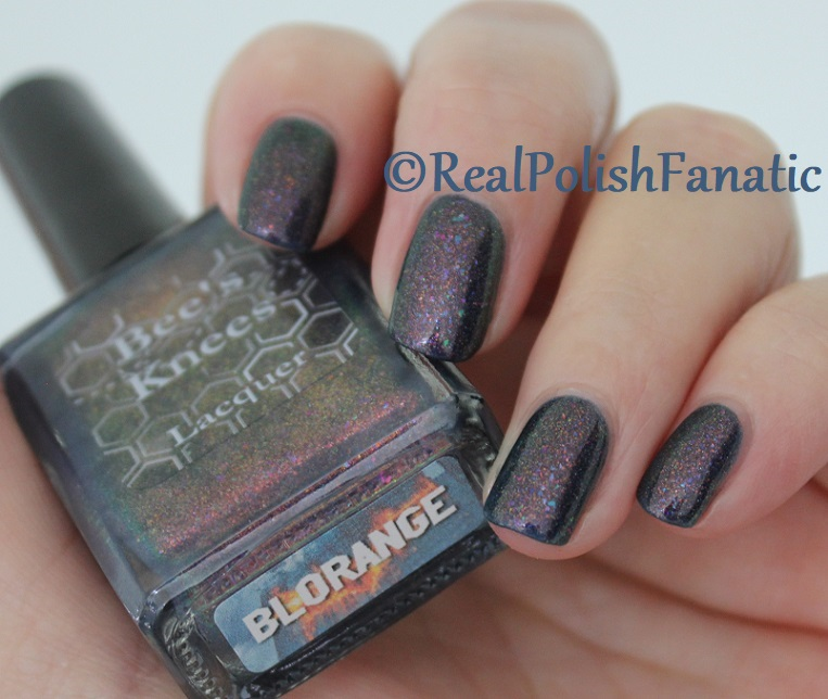 Bee's Knees Lacquer - Blorange -- COTM March 2018 (12)