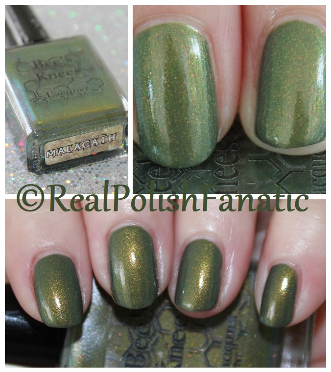 Bees Knees Lacquer - Malacath -- The Daedric Princes Collection February 2018