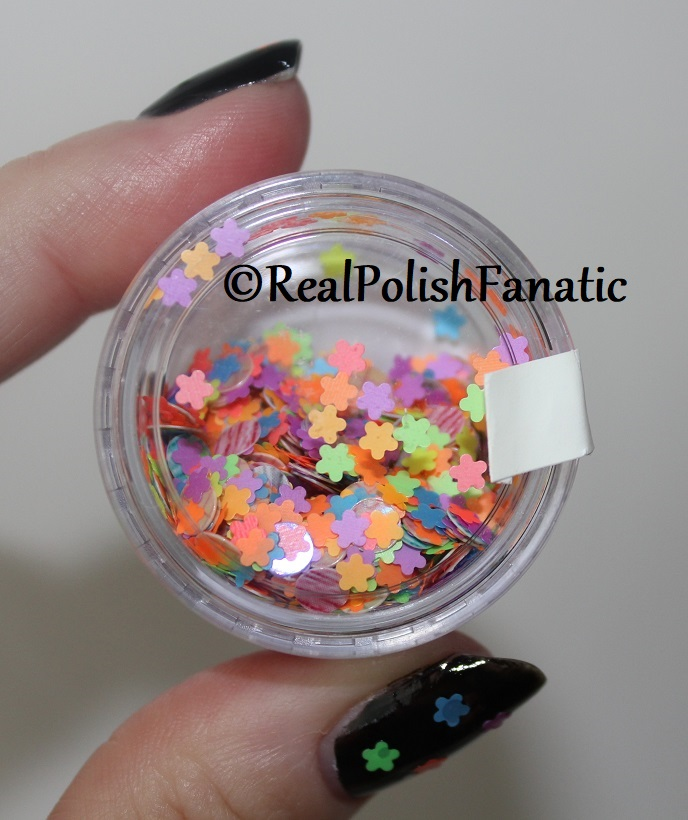 Frozen Water Designs - Neon Rainbow -- loose glitter mix (3)