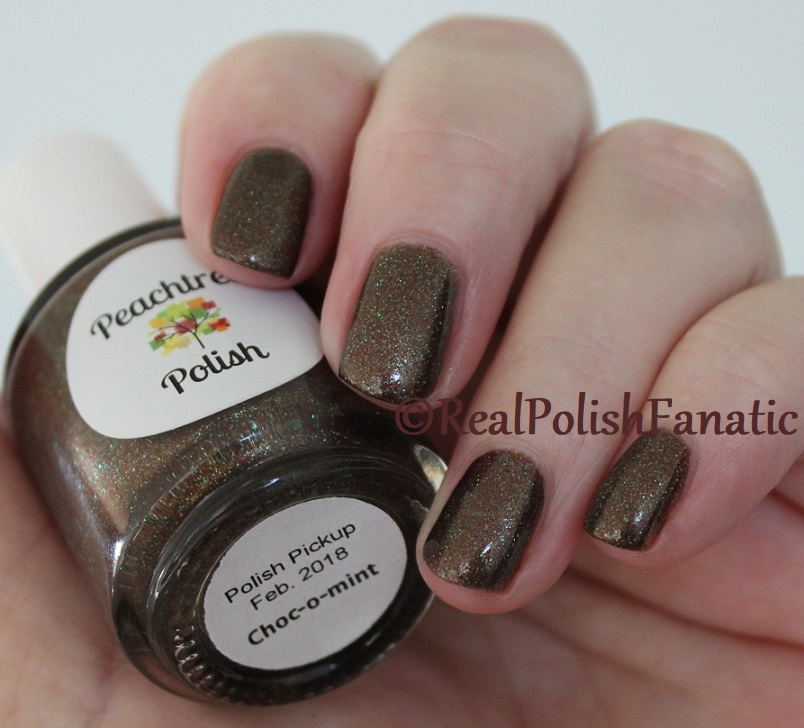 Peachtree Polish - Choc-o-mint -- February 2018 Polish Pickup (12)