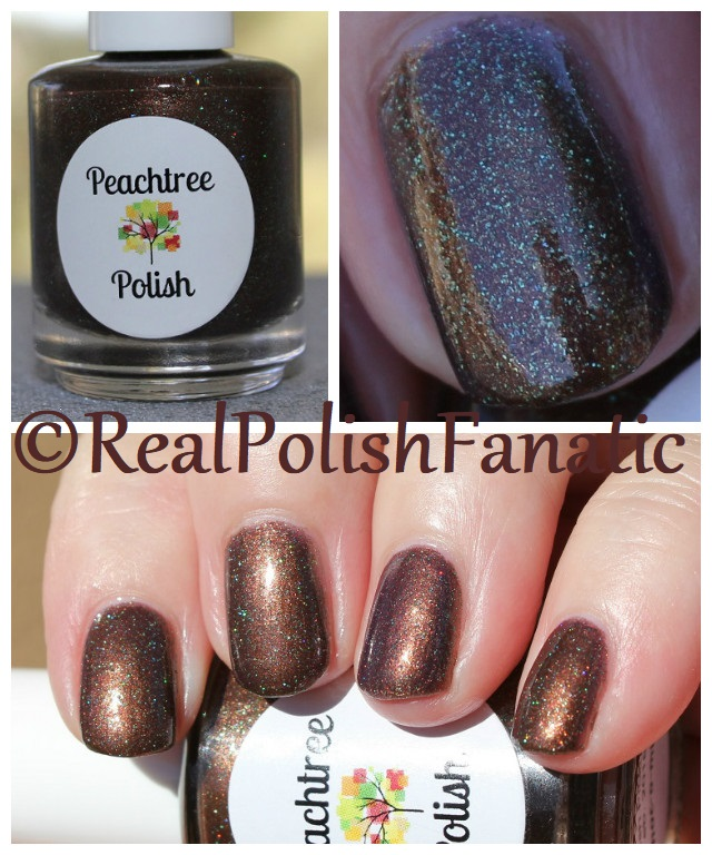 Peachtree Polish - Choc-o-mint -- February 2018 Polish Pickup