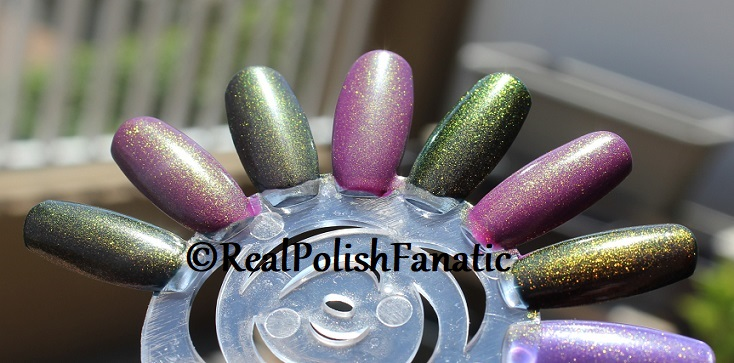 Comparison of 'Unicorn Pee' Polishes -- Shift Happens, Fantasy Fire, Worlds Apart (14)