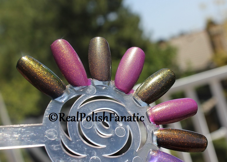 Comparison of 'Unicorn Pee' Polishes -- Shift Happens, Fantasy Fire, Worlds Apart (17)
