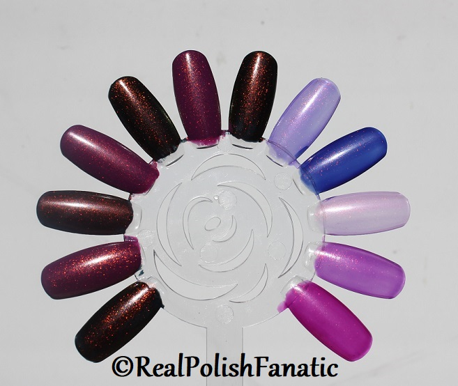 Comparison of 'Unicorn Pee' Polishes -- Shift Happens, Fantasy Fire, Worlds Apart (18)