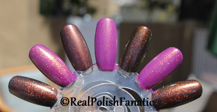 Comparison of 'Unicorn Pee' Polishes -- Shift Happens, Fantasy Fire, Worlds Apart (6)
