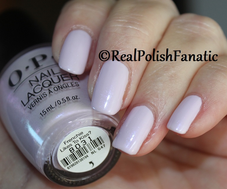 OPI - Frenchie Likes to Kiss -- Summer 2018 Grease Collection (7)