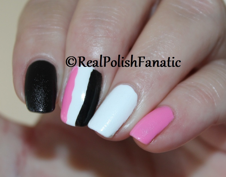 OPI Grease Collection - Leather Like Trio -- Electryfyin' Pink , Rydell Forever (White) , Grease Is the Word (Black) -- Summer 2018 (12)