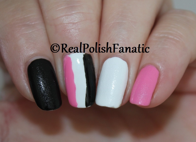 OPI Grease Collection - Leather Like Trio -- Electryfyin' Pink , Rydell Forever (White) , Grease Is the Word (Black) -- Summer 2018 (13)