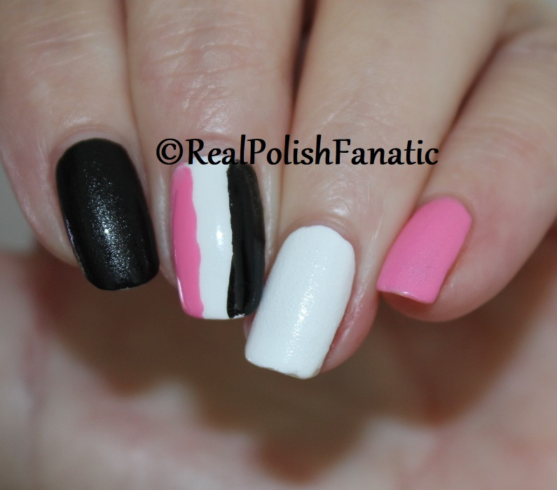 OPI Grease Collection - Leather Like Trio -- Electryfyin' Pink , Rydell Forever (White) , Grease Is the Word (Black) -- Summer 2018 (14)