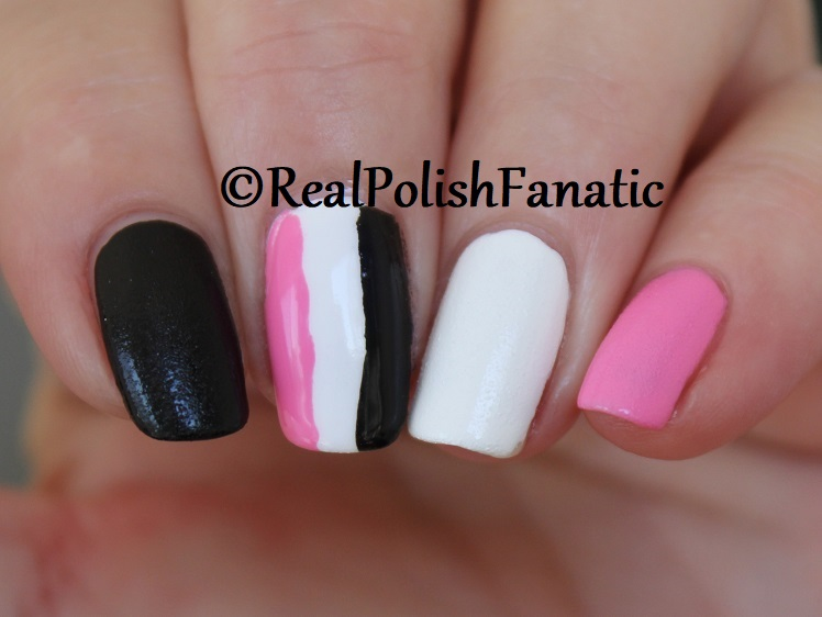 OPI Grease Collection - Leather Like Trio -- Electryfyin' Pink , Rydell Forever (White) , Grease Is the Word (Black) -- Summer 2018 (17)
