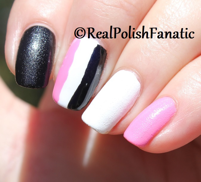 OPI Grease Collection - Leather Like Trio -- Electryfyin' Pink , Rydell Forever (White) , Grease Is the Word (Black) -- Summer 2018 (20)