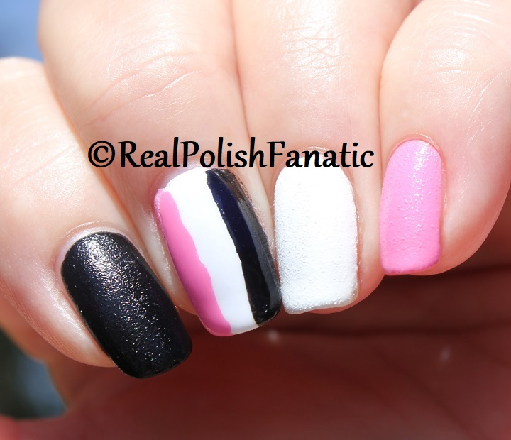 OPI Grease Collection - Leather Like Trio -- Electryfyin' Pink , Rydell Forever (White) , Grease Is the Word (Black) -- Summer 2018 (21)