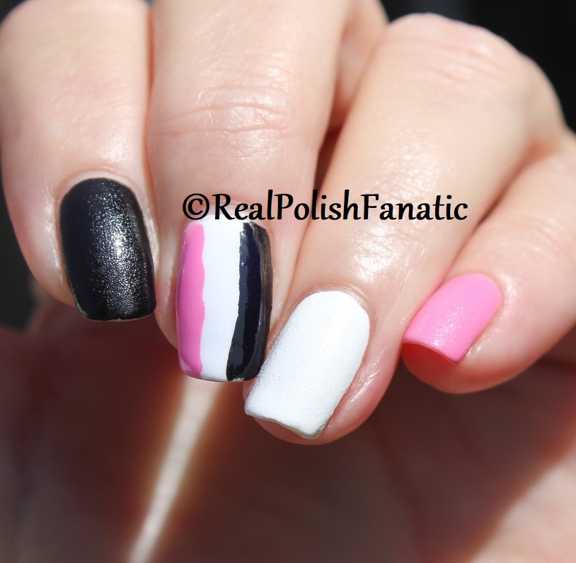 OPI Grease Collection - Leather Like Trio -- Electryfyin' Pink , Rydell Forever (White) , Grease Is the Word (Black) -- Summer 2018 (22)