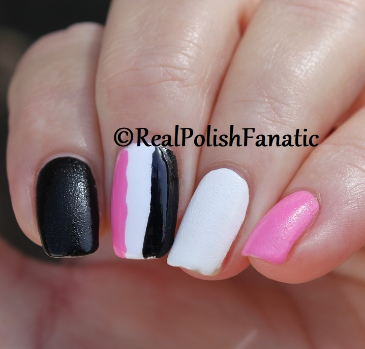 OPI Grease Collection - Leather Like Trio -- Electryfyin' Pink , Rydell Forever (White) , Grease Is the Word (Black) -- Summer 2018 (24)