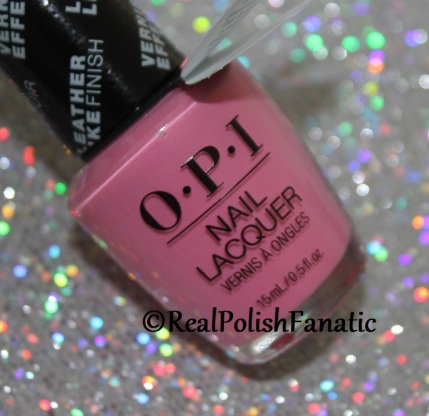 OPI Grease Collection - Leather Like Trio -- Electryfyin' Pink // Summer 2018
