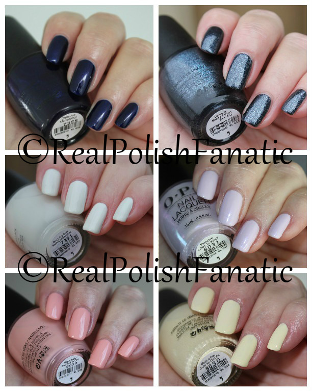 OPI Grease Collection Summer 2018 1