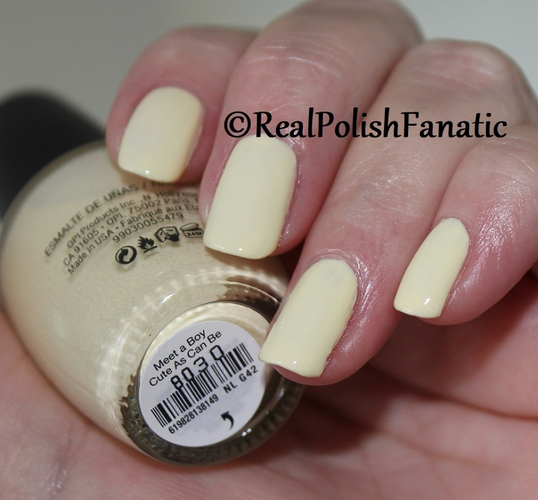 OPI - Meet a Boy Cute As Can Be -- Summer 2018 Grease Collection (6)
