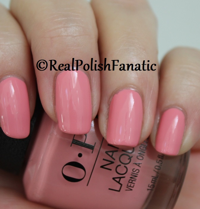 OPI - Pink Ladies Rule the School -- Summer 2018 Grease Collection (10)