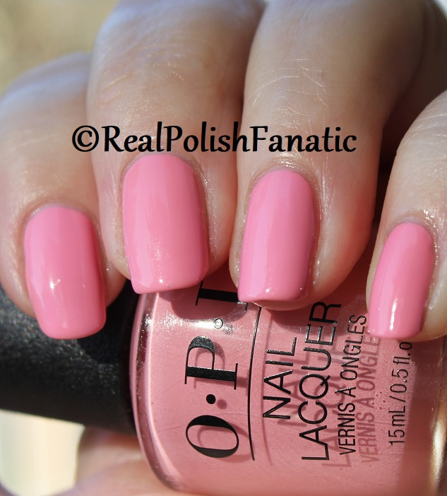 OPI - Pink Ladies Rule the School -- Summer 2018 Grease Collection (15)