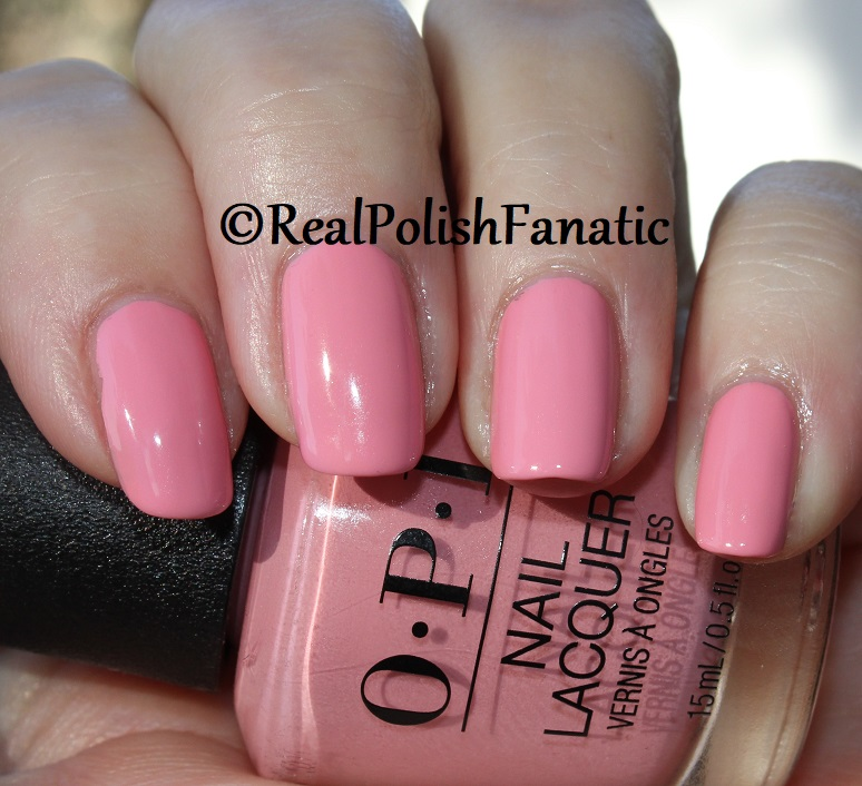 OPI - Pink Ladies Rule the School -- Summer 2018 Grease Collection (16)