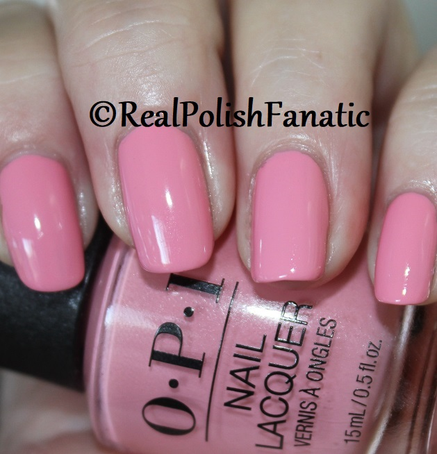 OPI - Pink Ladies Rule the School -- Summer 2018 Grease Collection (6)