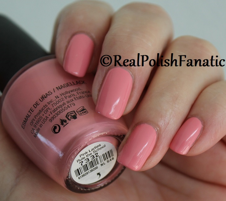 OPI - Pink Ladies Rule the School -- Summer 2018 Grease Collection (8)