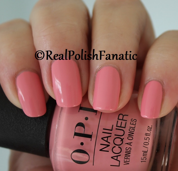 OPI - Pink Ladies Rule the School -- Summer 2018 Grease Collection (9)