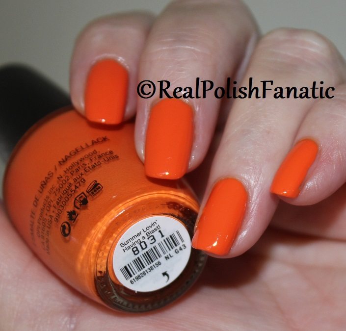 OPI - Summer Lovin' Having A Blast! -- Summer 2018 Grease Collection (6)