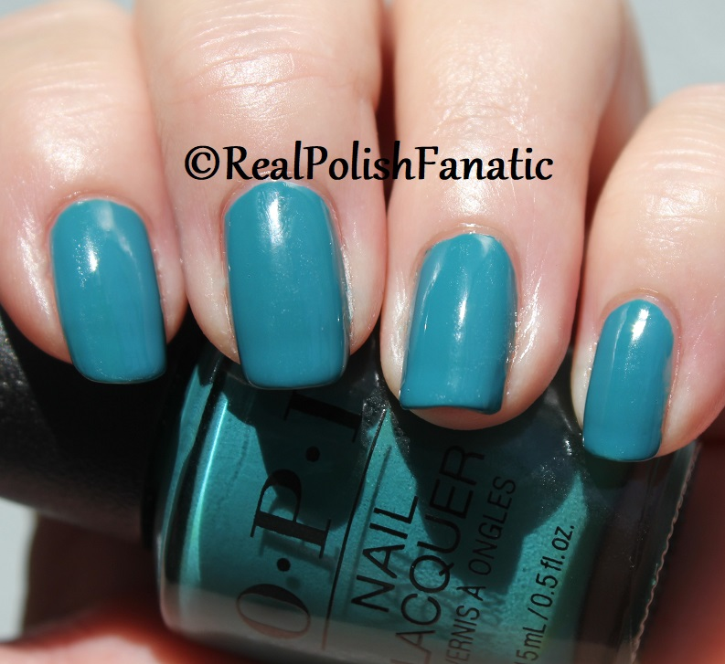 OPI - Teal Me More, Teal Me More -- Summer 2018 Grease Collection (10)
