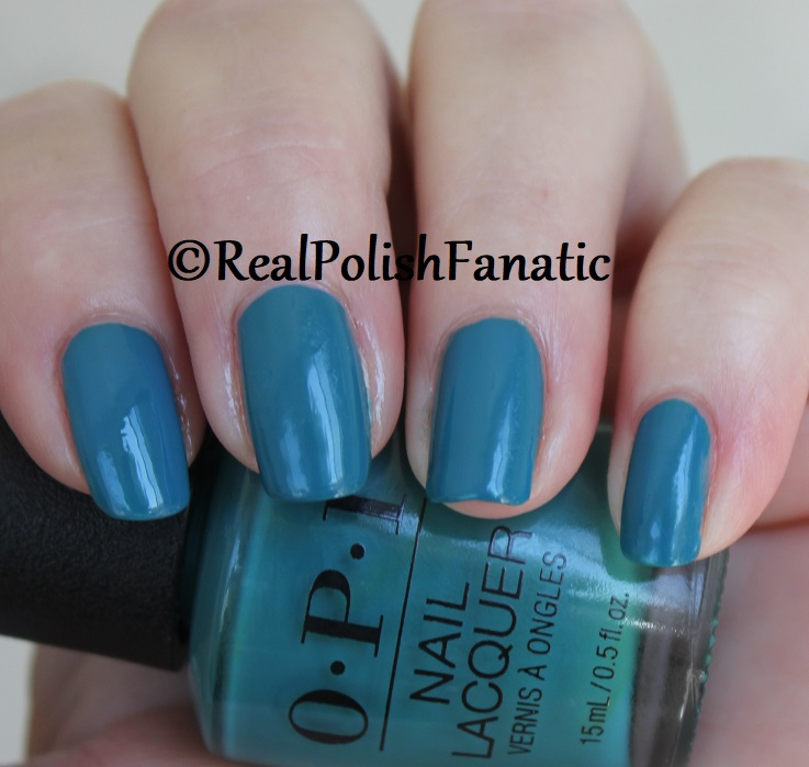 OPI - Teal Me More, Teal Me More -- Summer 2018 Grease Collection (13)