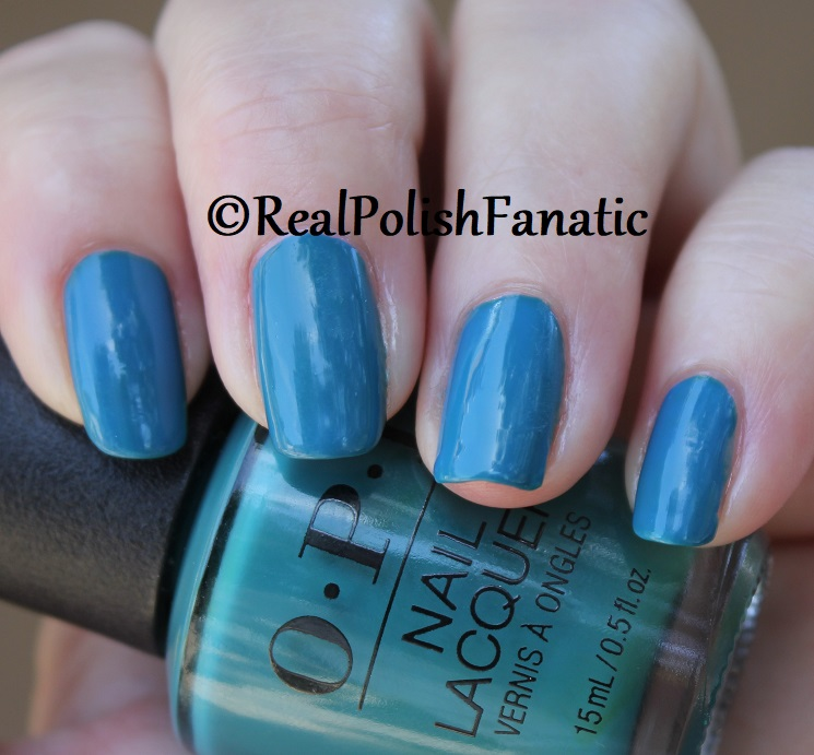 OPI - Teal Me More, Teal Me More -- Summer 2018 Grease Collection (15)