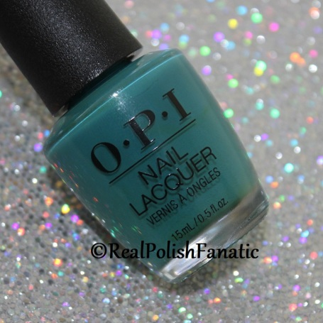 OPI - Teal Me More, Teal Me More // Summer 2018 Grease Collection