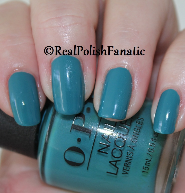 OPI - Teal Me More, Teal Me More -- Summer 2018 Grease Collection (4)