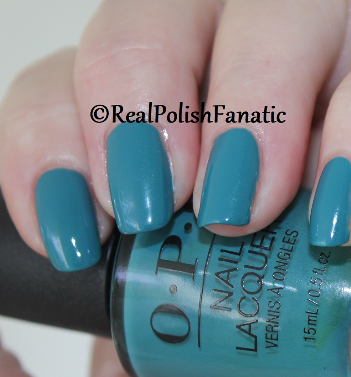 OPI - Teal Me More, Teal Me More -- Summer 2018 Grease Collection (5)