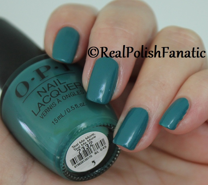 OPI - Teal Me More, Teal Me More -- Summer 2018 Grease Collection (7)