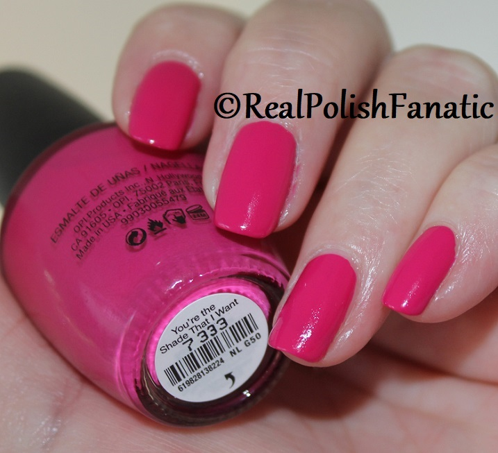 OPI - You're the Shade That I Want -- Summer 2018 Grease Collection (5)