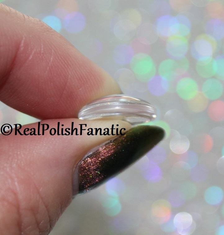 Tutorial -- Applying Glass Cabochons to Nail Polish Bottles (2)