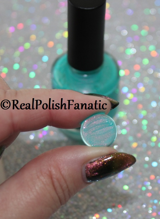 Tutorial -- Applying Glass Cabochons to Nail Polish Bottles (7)