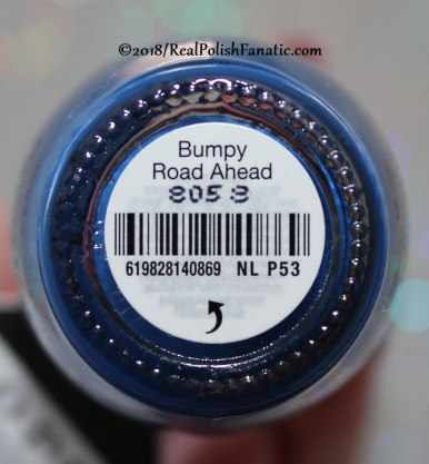 OPI - Bumpy Road Ahead NL P53 // Summer 2018 Pop Culture Collection