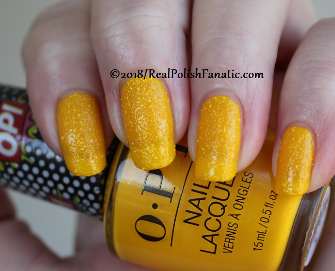 OPI - Hate To Burst Your Bubble - Summer 2018 Pop Culture Collection (7)