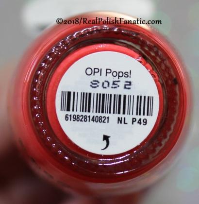 OPI - OPI Pops! NL P49 // Summer 2018 Pop Culture Collection