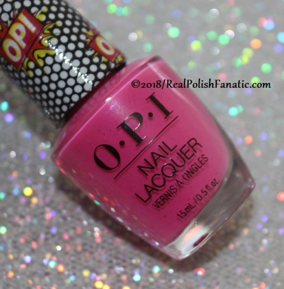 OPI - Pink Bubbly // Summer 2018 Pop Culture Collection