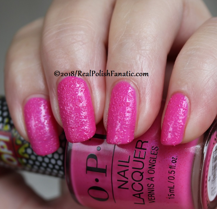 OPI - Pink Bubbly - Summer 2018 Pop Culture Collection (12)