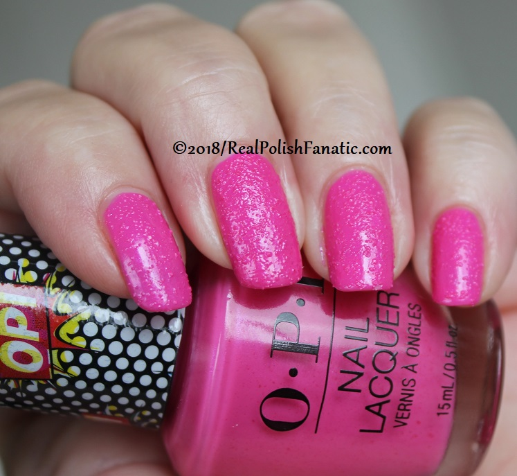 OPI - Pink Bubbly - Summer 2018 Pop Culture Collection (13)