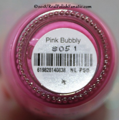 OPI - Pink Bubbly NL P50 // Summer 2018 Pop Culture Collection