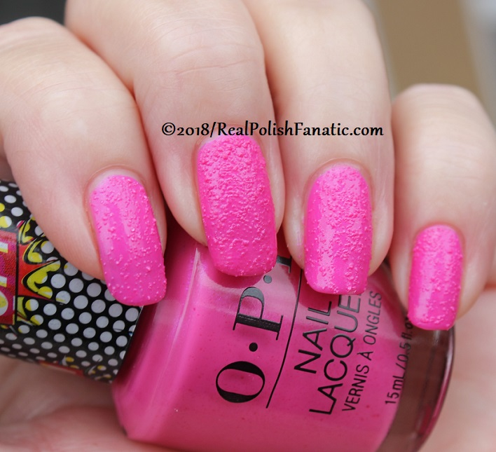 OPI - Pink Bubbly - Summer 2018 Pop Culture Collection (20)