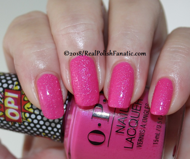 OPI - Pink Bubbly - Summer 2018 Pop Culture Collection (3)